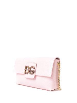 Dolce & Gabbana: shoulder bags online - Millennials iguana print bag