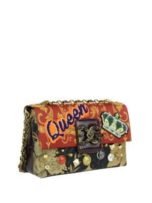 Dolce & Gabbana: shoulder bags online - Millennials jacquard shoulder bag