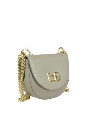Dolce & Gabbana: shoulder bags online - Wifi leather medium shoulder bag