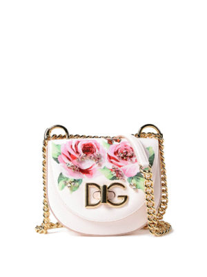 Dolce & Gabbana: shoulder bags - Small embellished Wifi bag