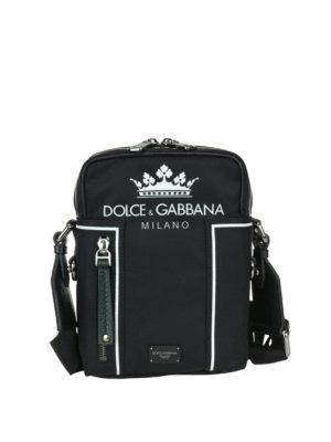 DOLCE & GABBANA: borse a spalla - Borsa a spalla media Vulcano
