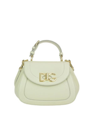 Dolce & Gabbana: shoulder bags - Wifi grainy leather bag