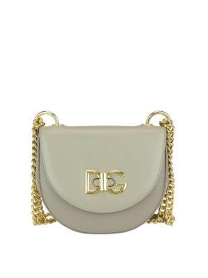 Dolce & Gabbana: shoulder bags - Wifi leather medium shoulder bag