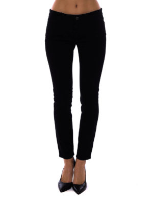 Dolce & Gabbana: skinny jeans online - Lemon patch skinny jeans
