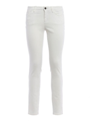 Dolce & Gabbana: skinny jeans - Pineapple embroidery jeans