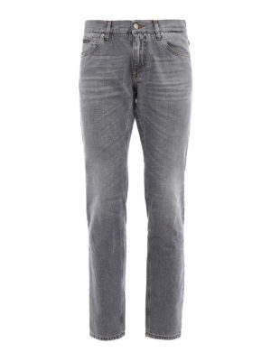 Dolce & Gabbana: straight leg jeans - Classic coloured denim jeans