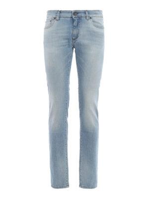 Dolce & Gabbana: straight leg jeans - Classic denim jeans