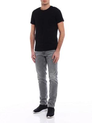 Dolce & Gabbana: straight leg jeans online - Classic coloured denim jeans
