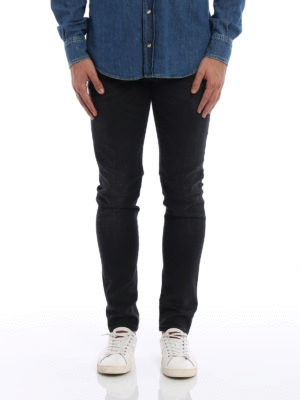 Dolce & Gabbana: straight leg jeans online - Stretch denim jeans