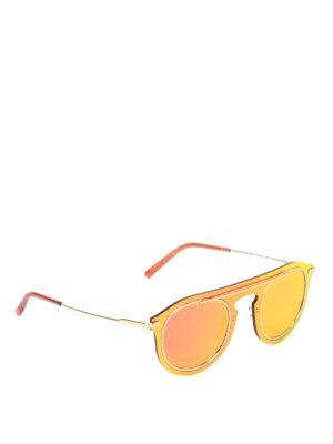 Dolce & Gabbana: sunglasses - Clean-cut lens sunglasses