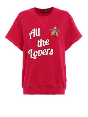 Dolce & Gabbana: Sweatshirts & Sweaters - All the Lovers sweatshirt