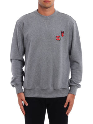 Dolce & Gabbana: Sweatshirts & Sweaters online - #dgfamily patched sweatshirt
