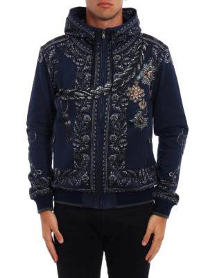 Dolce & Gabbana: Sweatshirts & Sweaters online - Heraldic Sicilia printed hoodie