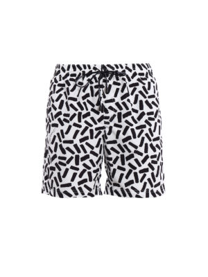 Dolce & Gabbana: Swim shorts & swimming trunks - Bicolour patterned swim shorts