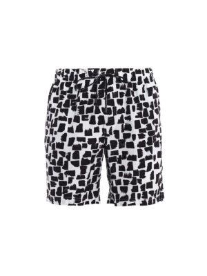 Dolce & Gabbana: Swim shorts & swimming trunks - Bicolour printed swim shorts
