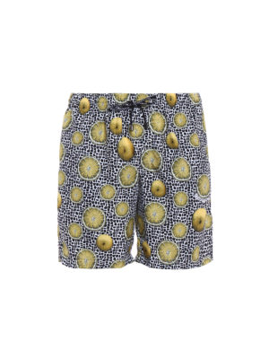 Dolce & Gabbana: Swim shorts & swimming trunks - Lemon print swim shorts