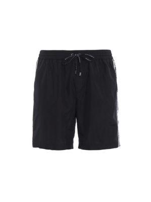 DOLCE & GABBANA: Costumi piscina e boxer - Costume da bagno nylon non-stretch