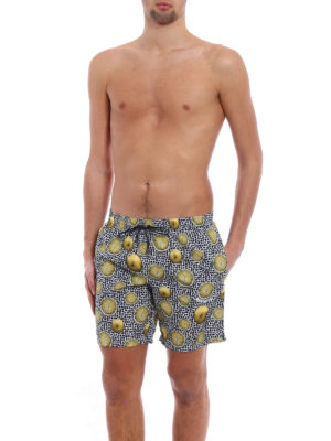 Dolce & Gabbana: Swim shorts & swimming trunks online - Lemon print swim shorts