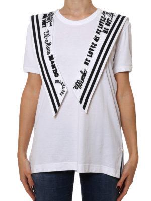 Dolce & Gabbana: t-shirts online - Cotton jersey sailor T-shirt