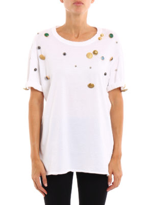 Dolce & Gabbana: t-shirts online - Used T-shirt with appliques
