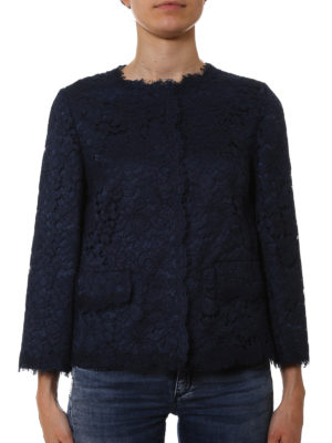 Dolce & Gabbana: Tailored & Dinner online - Lace crew neck jacket
