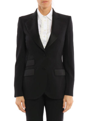 Dolce & Gabbana: Tailored & Dinner online - Wool and silk tailored jacket