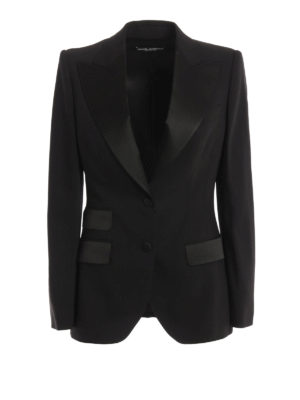 Dolce & Gabbana: Tailored & Dinner - Wool and silk tailored jacket