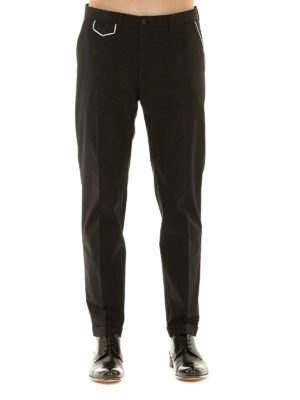 Dolce & Gabbana: Tailored & Formal trousers online - Trousers with contrasting piping