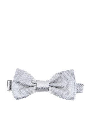 Dolce & Gabbana: ties & bow ties - Jacquard silk bow tie
