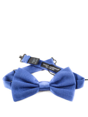 Dolce & Gabbana: ties & bow ties online - Jacquard silk bow tie