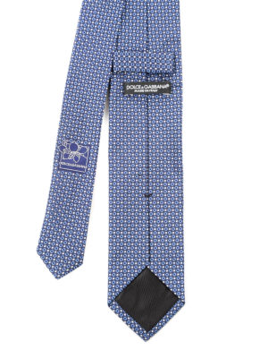 Dolce & Gabbana: ties & bow ties online - Patterned silk tie