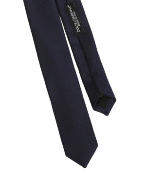 Dolce & Gabbana: ties & bow ties online - Polka dot silk tie