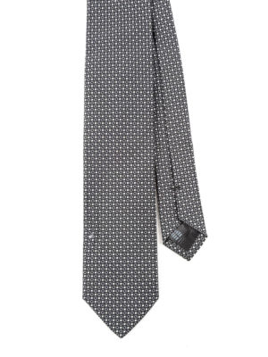 Dolce & Gabbana: ties & bow ties - Patterned silk tie