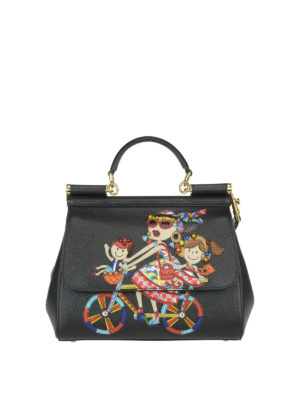 Dolce & Gabbana: totes bags - DG Family Sicily Medium handbag