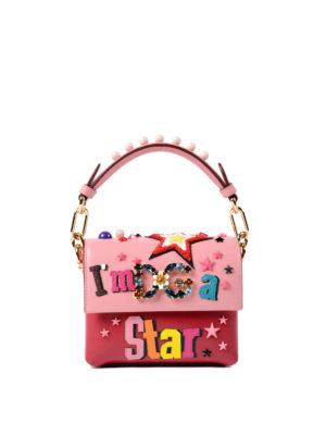 Dolce & Gabbana: totes bags - Millennials Mini bag with appliques