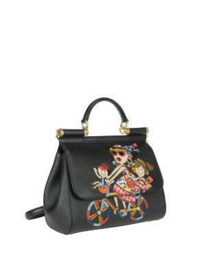 Dolce & Gabbana: totes bags online - DG Family Sicily Medium handbag