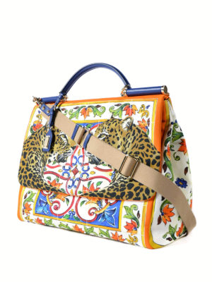 Dolce & Gabbana: totes bags online - Sicily Large handbag