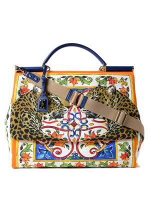 Dolce & Gabbana: totes bags - Sicily Large handbag