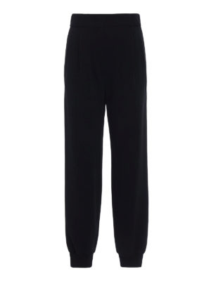 Dolce & Gabbana: tracksuit bottoms - Cady jogging pants with logo bands