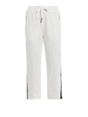 DOLCE & GABBANA: pantaloni sport - Pantaloni da jogging crop #DG Millennials