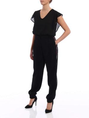 Dolce & Gabbana: tracksuit bottoms online - Cady jogging pants with logo bands