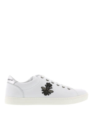 Dolce & Gabbana: trainers - Bee and crown insert trainers