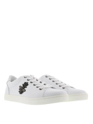Dolce & Gabbana: trainers online - Bee and crown insert trainers
