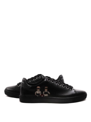 Dolce & Gabbana: trainers online - DG Family patch leather sneakers