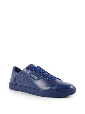 Dolce & Gabbana: trainers online - Logo leather sneakers