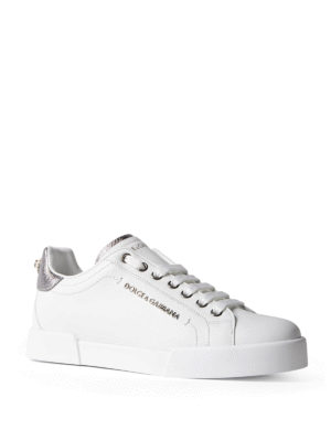 Dolce & Gabbana: trainers online - Portofino calfskin sneakers