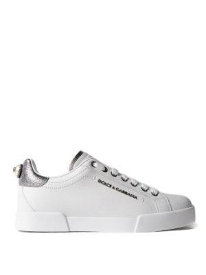 Dolce & Gabbana: trainers - Portofino calfskin sneakers