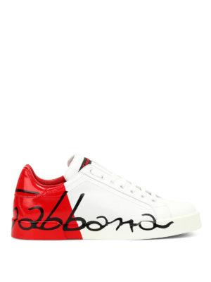Dolce & Gabbana: trainers - Portofino sneakers
