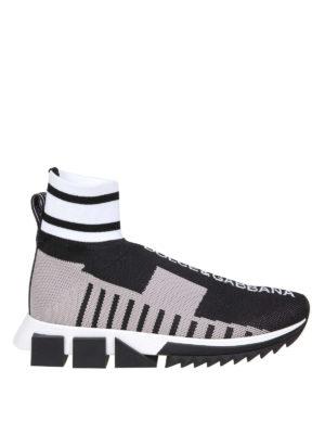 9b409eeb314497 DOLCE   GABBANA  sneakers - Slip-on Sorrento alte in jersey stretch
