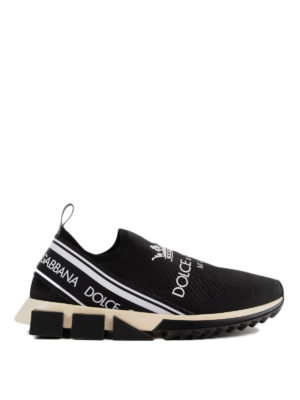 DOLCE & GABBANA: sneakers - Slip-on Sorrento in jersey stretch